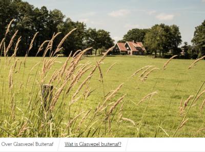 Ondernemers starten zelf met aanleg glasvezelnetwerk buitengebied Overijssel