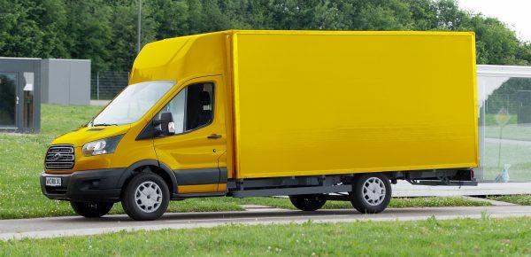 Deutsche Post Ontwikkelt Samen Met Ford Elektrische Bestelwagens E