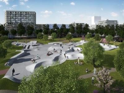 Grootste en duurzame skatebaan van Nederland