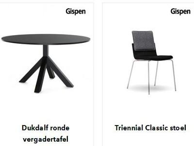 Bieb Utrecht gunt los meubilair aan Gispen